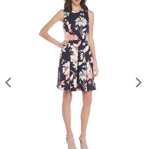 🌺Sleeveless Floral Printed Fit & Flare Dress 🌺